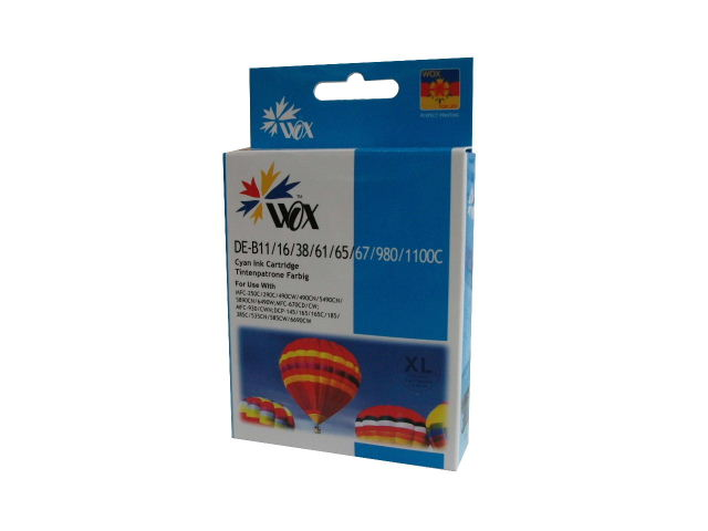 Compatible Brother LC38C (LC67C) High Capacity ink cartridge